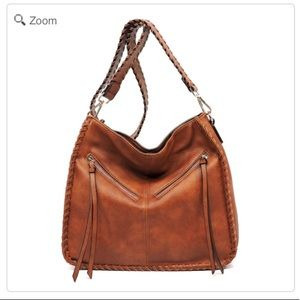 Handbags - NEW Fashion V Zipper Messenger Crossbody Bag